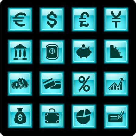 Money iconset Vector