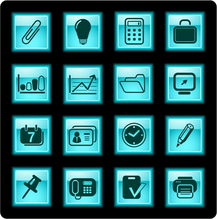 miscellaneous: Miscellaneous office icons