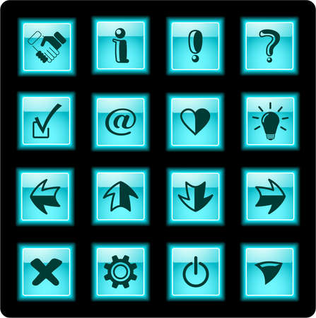 Miscellaneous signs iconset