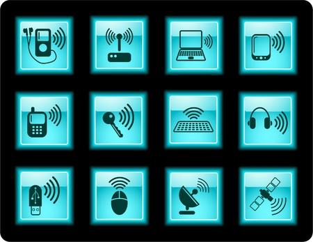 wep: Wireless communications iconset