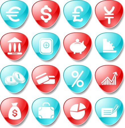 Money vector iconset