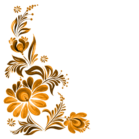 textile image: folk ornament Stock Photo