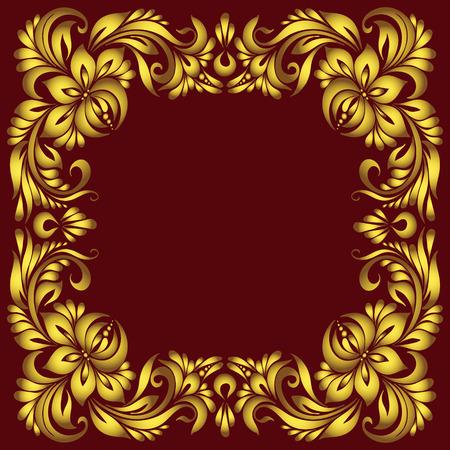 Decorative corner frame