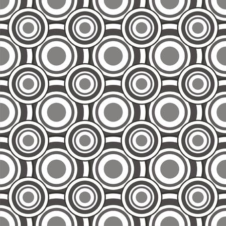 geometria: Ilustraci?n vectorial de patr?n abstracto sin fisuras con los c?rculos