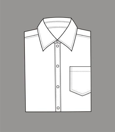 illustration  Set of men s business shirt Stock Vector - 20074947