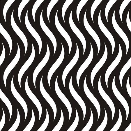 fondo blanco y negro: Ilustración vectorial de negro y blanco sin patrón abstracto