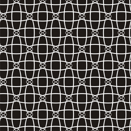 Vector illustration of seamless black-and-white abstract pattern Stock Vector - 22299340