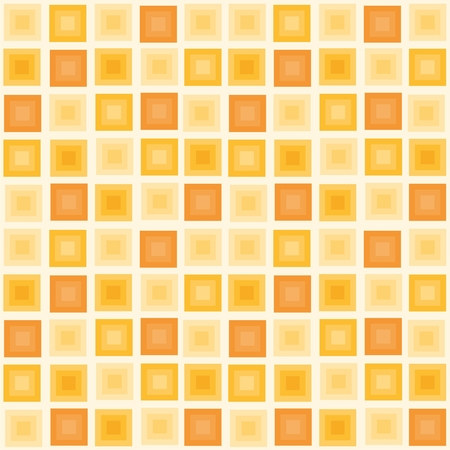 foursquare: Vector illustration of seamless geometric pattern with squares