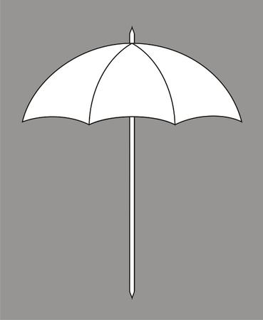 sonnenschirm: Vektor-Illustration der Sonnenschirm
