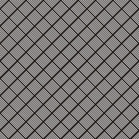 foursquare: Vector illustration of seamless geometric black-and-white pattern