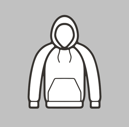 smock: illustration of smock icon on background