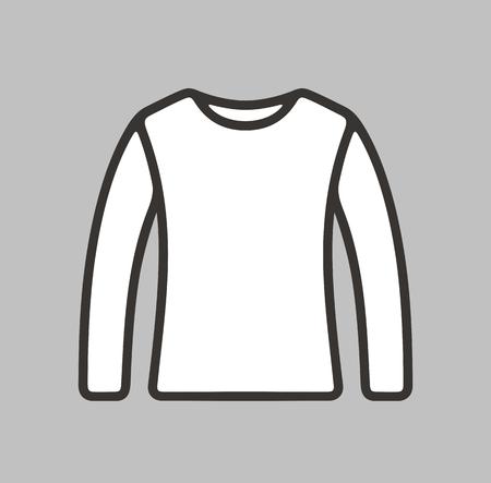 female fitness: illustration of jumper icon on background Illustration