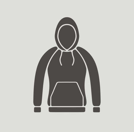smock: Vector illustration of smock icon on background