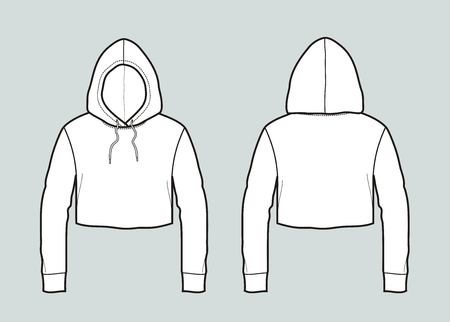 Vector illustration of a smock Illustration