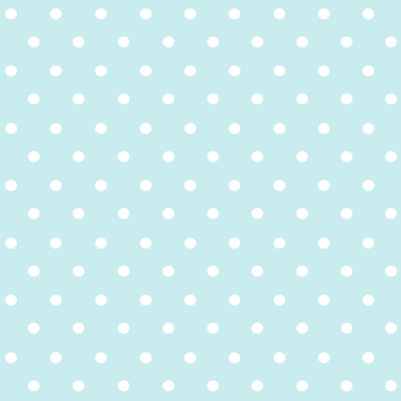 Vector illustration of polka dots seamless pattern  イラスト・ベクター素材