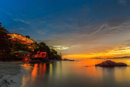 location shot: Seascape of andaman sea, Lipe island