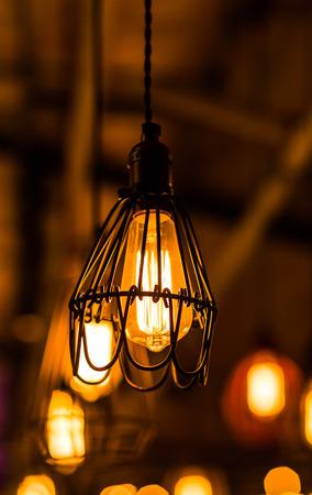 luxury retro edison light bulb decor