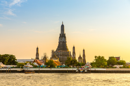 Wat Arun Temple in Thailand Stock fotó