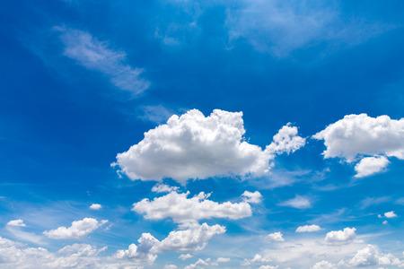 Cielo blu e sfondo clound Archivio Fotografico