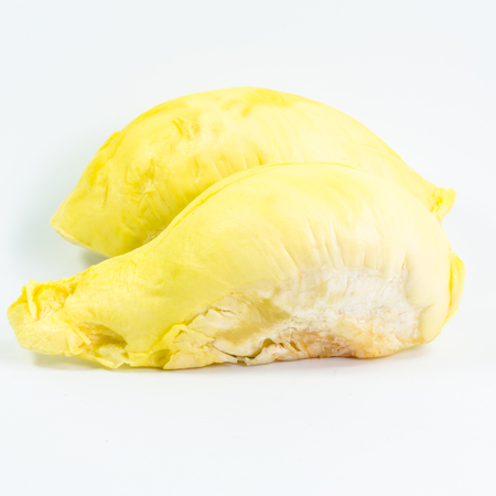Durian fruit close up