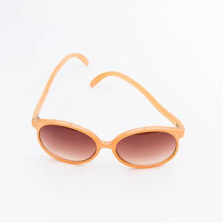 Sunglasses on white Imagens