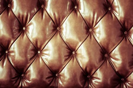 Brown leather sofa pattern