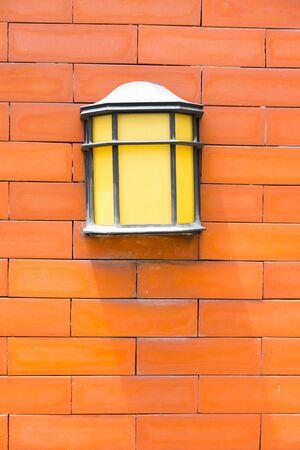 Wall lamp close up Imagens