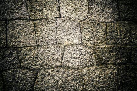 Grunge old stone rock background Imagens