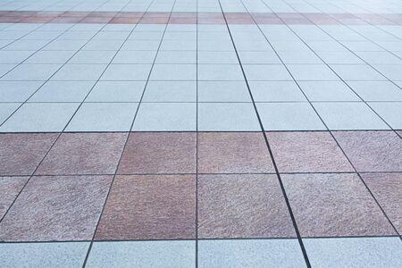 concrete block footpath floor background Imagens