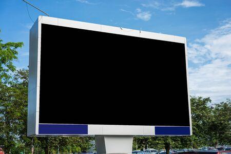 Blank billboard for new advertisement Imagens - 131768709