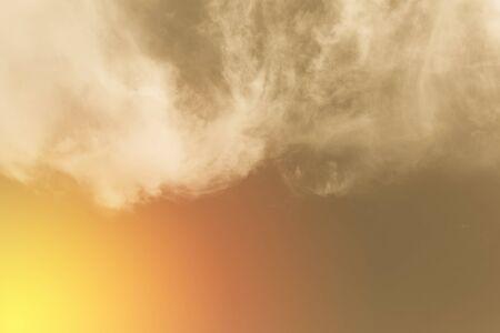 Retro blue sky and clouds Imagens