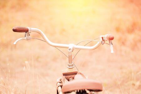 Bicycle close up.