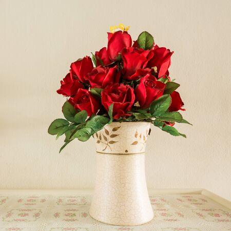 Bouquet rose flower decor Imagens