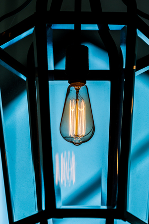 Retro luxury light decor