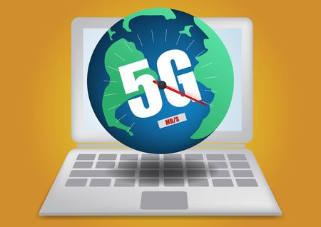 4g 5g network global Earth Communications networks map of the world Blue map global logistics connections,innovative Big data of iot ai technology in science