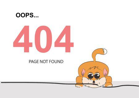 The cat tore the wire. 404 error