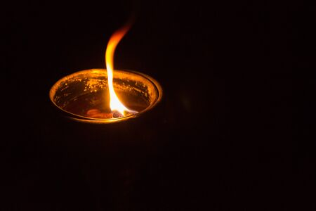 burns night: A cup of candle
