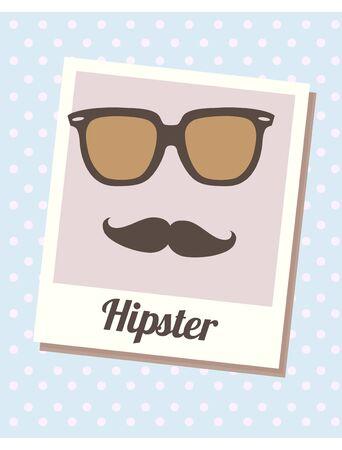 lomo: Hipster Vector illustration