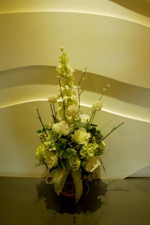 flora: white flora bouquet