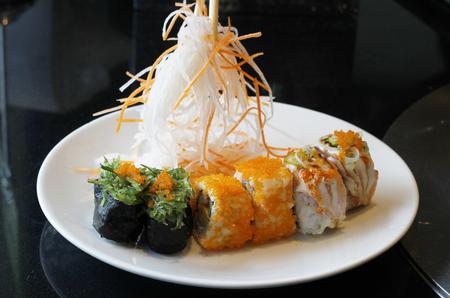 wasabi: mix sushi with wasabi