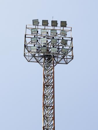 conner: stadium light Stock Photo