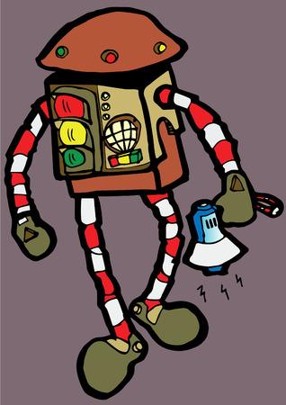 traffic controller: Trafficman  traffic controller robot
