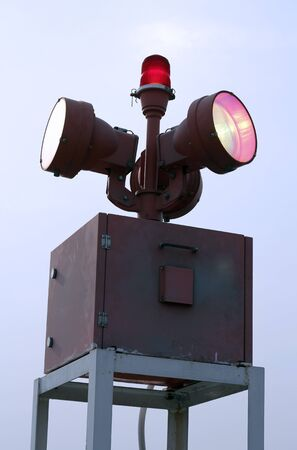 beacon: beacon lighting for helicopter