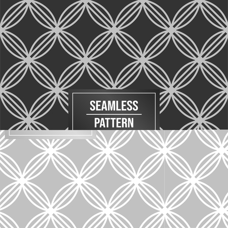 Geometric pattern background. Abstract pattern black background Illustration