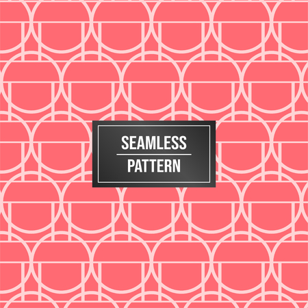 Geometric pattern background. Abstract pattern pink background Vectores