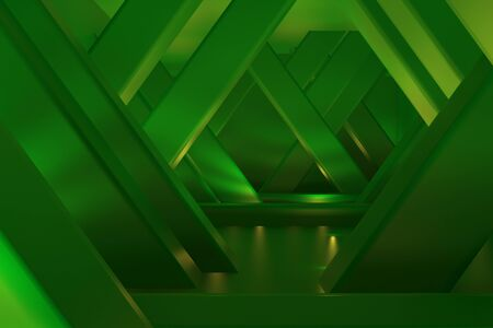 3d rendering of backgrounds abstract. 3d illustration of simple Geometric. Colorful illumination Stockfoto - 138470811