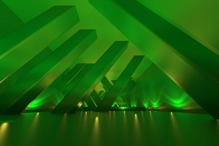3d rendering of backgrounds abstract. 3d illustration of simple Geometric Stockfoto - 138470739