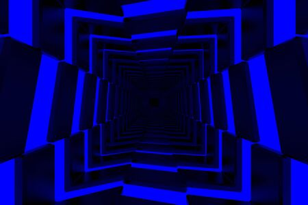 3d rendering of backgrounds abstract. 3d illustration of simple Geometric Stockfoto - 138470878
