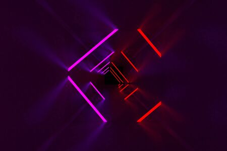 3d rendering of backgrounds abstract. 3d illustration of simple Geometric. Colorful illumination Stockfoto - 138471218