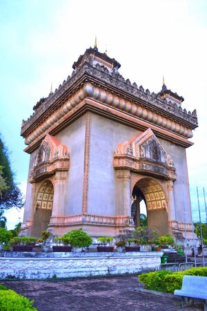 patuxay-The victory gate-Laos photo